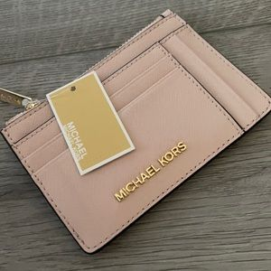 NWT Michael Kors Small Double Side Credit Card